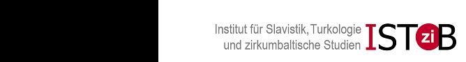 Institut für Slavistik, Turkologie und zirkumbaltische Studien